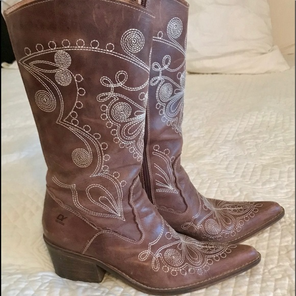 Unisa Womens Brown Tall Wide Calf Boots In 2019 My Posh Closet